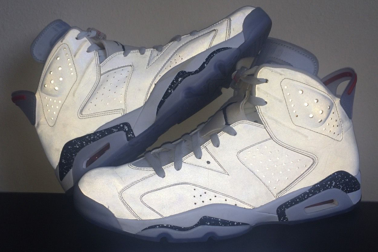 This Rare Reflective Air Jordan 6 Is Available Somehow