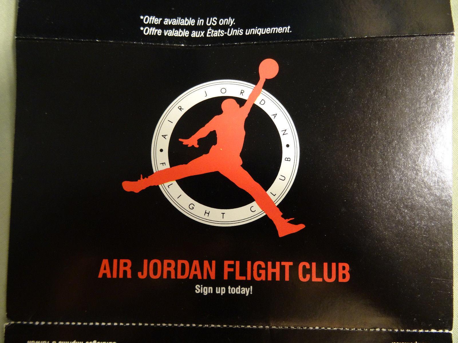 Vintage Gear Nike Air Jordan Flight Club Brochure