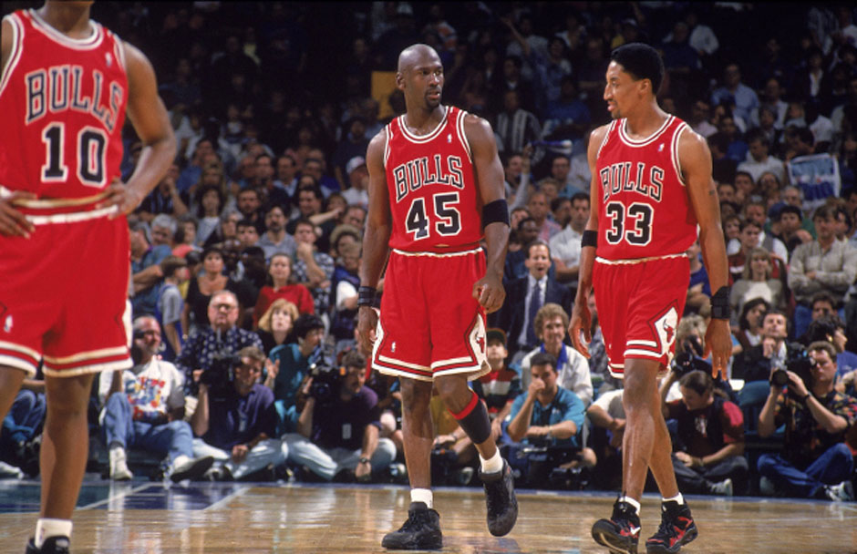 Charlotte Hornets vs Chicago Bulls, 1995 NBA Eastern Conference Playoffs