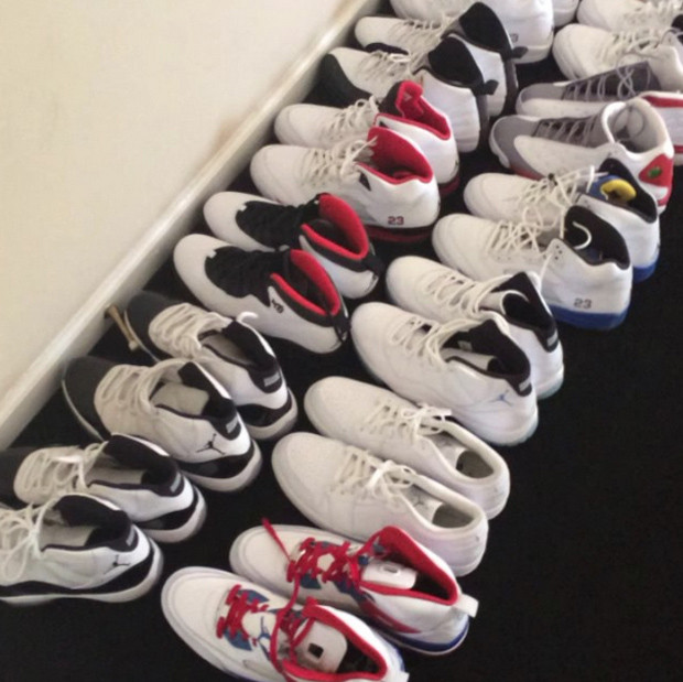 Stephen Jackson's Huge Air Jordan Collection Needs Those In Need