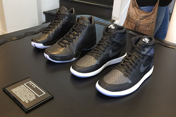 Air Jordan MTM On Display At NikeLab P75 Paris - Air Jordans ... 1894e1862d