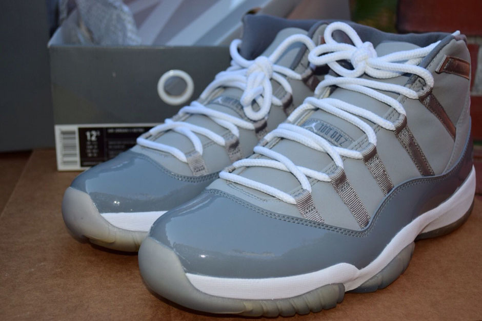air jordan xi (11) cool grey 2010 retro 11