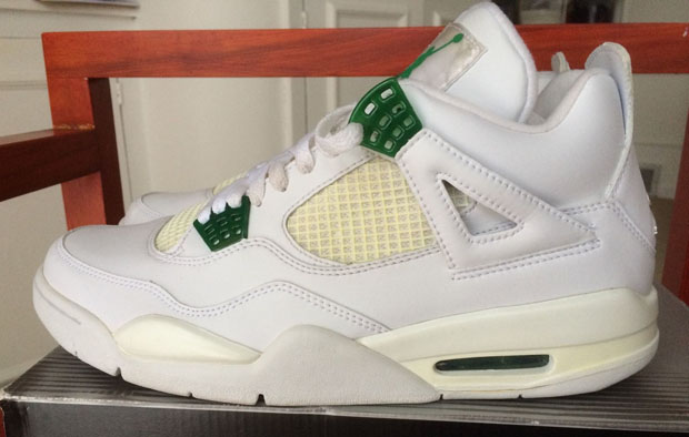 air jordans 4 for green