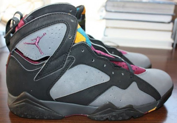 air jordan 7 bordeaux og 1992 corvette