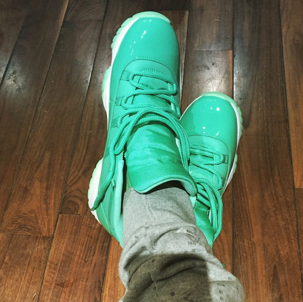 Chris Paul Shows Off Air Jordan 11