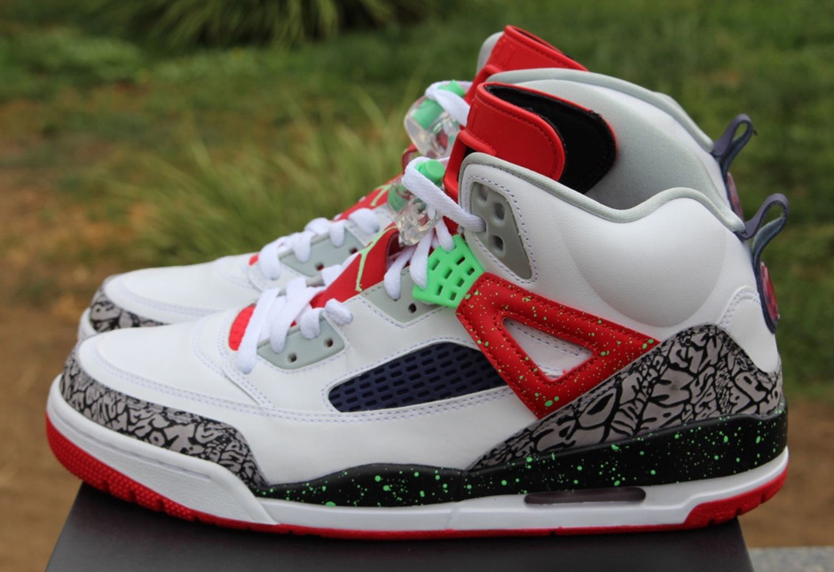 """new product 85d5a 8d7d9 Jordan Spizike """"Poison Green†With A Hare Twist"""
