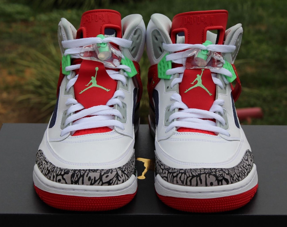 Jordan Spizike Quot Poison Green Quot With A Hare Twist Air