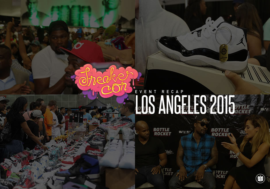 Stars & Insane Kicks Highlighted Sneaker Con's Weekend In Los Angeles
