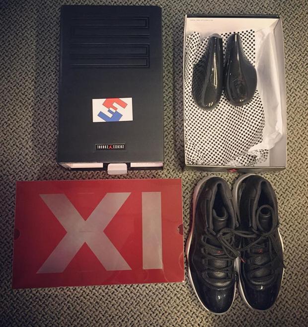 air jordan 11 shoe box