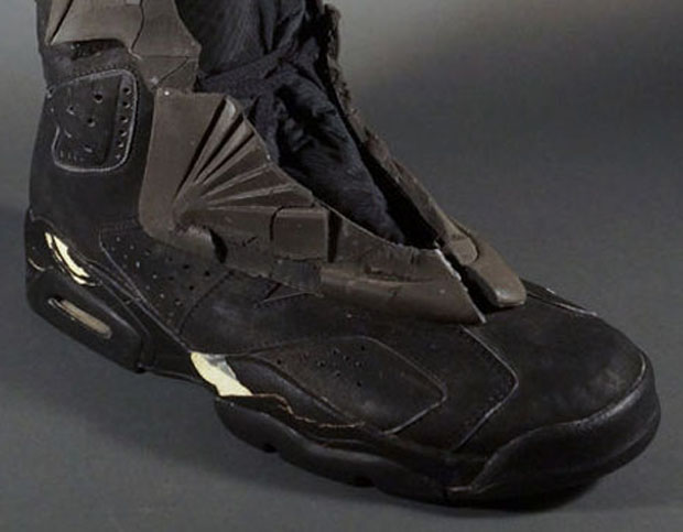 You Can Bid On Batman's Air Jordan 6 Batboot Right Now
