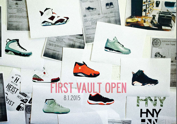 HEIST NY Is Cracking Open 500 Pairs Of Jordan Starting August 1st