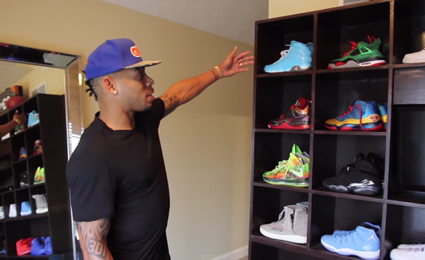 Joe Haden's Ridiculous Sneaker Collection Includes Just A Few Jordans