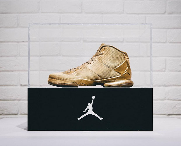 Jordan Brand Made A 23 Karat Gold Super.Fly 4