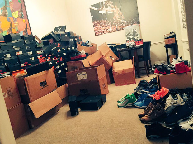 Marcus Jordan Shows Off His Latest Air Jordan Haul