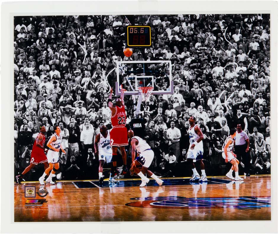 Backboard From Michael Jordan's Last Shot Sells For $41,825 - Air Jordans, Release Dates & More ...