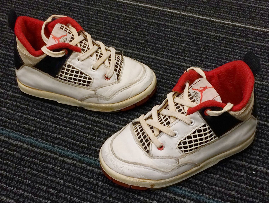online store d418e e1ddc That s what they called toddler and grade school Air Jordans back in the  late  80s and early  90s. Sky Jordans. First, for legal accuracy – these  sma.
