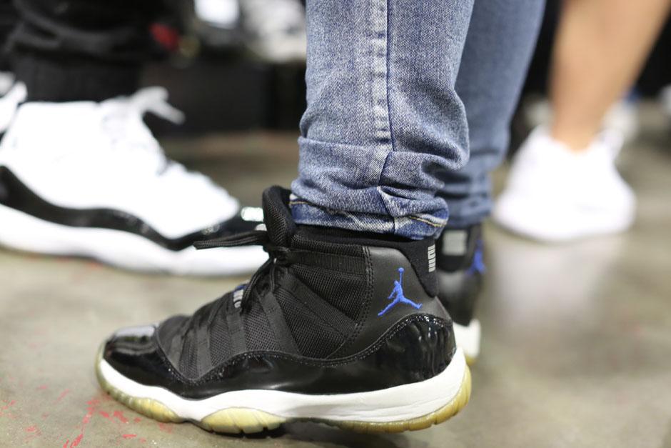 Image Air Jordan Shoes Sur Pieds