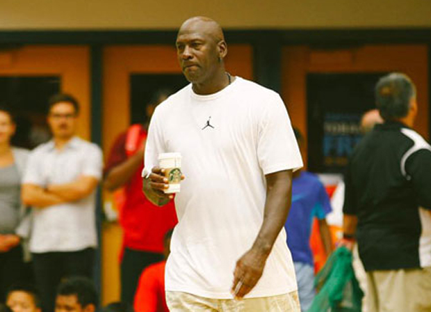 Michael Jordan Recovers Nicely From