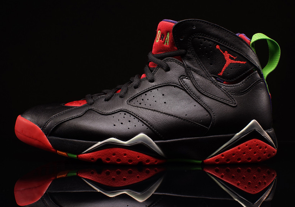 """b9f7a5eabd87 Jordan Brand's """"Hare Jordan"""" collection continues this Saturday with the  release of Air Jordan 7 """"Marvin The Martian."""" Inspired by Marvin's war tuni."""