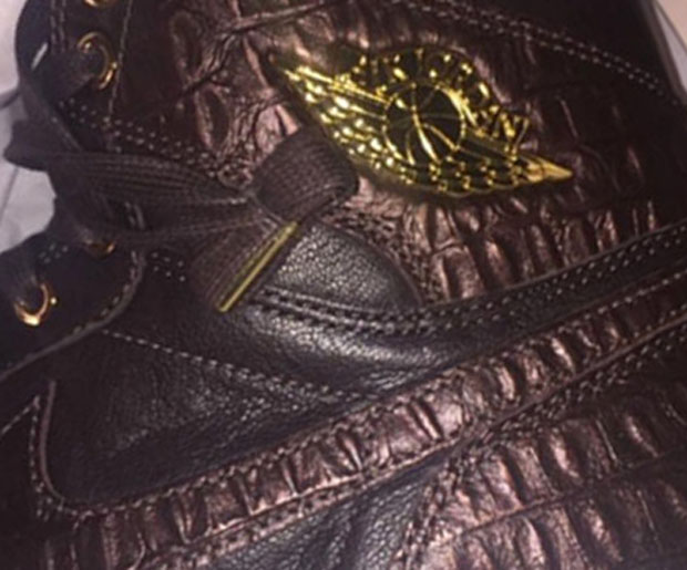 419e8e170296 The Air Jordan 1 Pinnacle line debuted with snakeskin-embossed leather