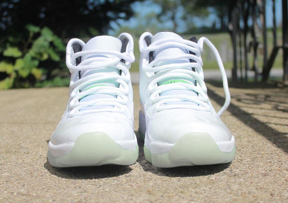 5d7d0ade2b0 ... Take a closer look below and let us know if youd rock Jordans with  color- Air Jordan 11 Vanna Custom by Rocket Boy Nift ...