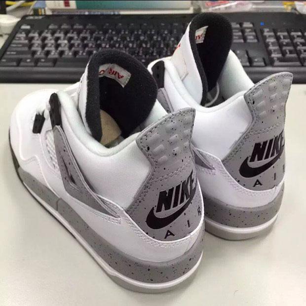 Jordan 4 White Cement Nike Air