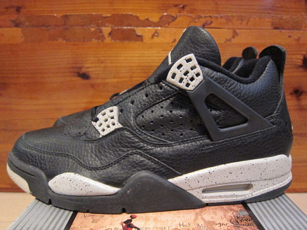 """One of the first ever """"Retro+"""" colorways is our latest Daily Jordan. The  Air Jordan 4 """"Oreo"""" released on November 27 90e3c1d48"""