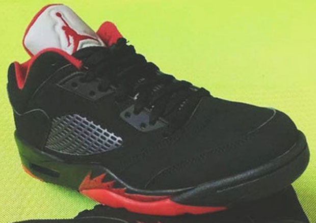 Closer Look At Air Jordan 5 Low