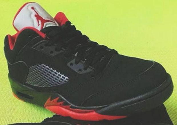 Closer Look At Air Jordan 5 Low