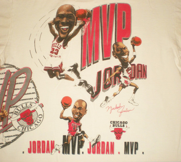 Vintage Gear: Michael Jordan 1991 MVP Caricature T-Shirt