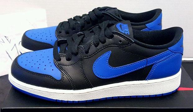 Latest Jordan 1 Low Black Blue