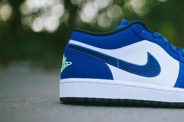 126aeea7cf02 Air Jordan 1 Low – Insignia Blue – Ghost Green — Sneaker Kat