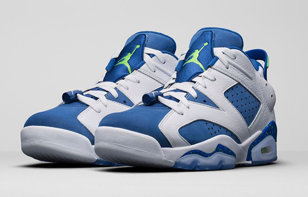 7e3bf4286d2a9f Air Jordan 6 Low Seahawks Archives - Air Jordans