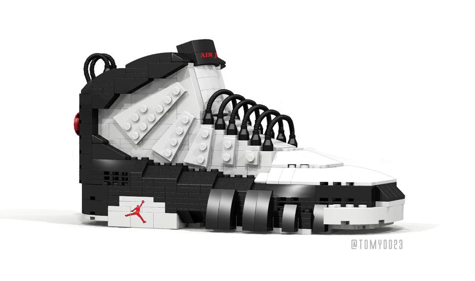 Air Jordan 9 Becomes The Latest Lego Sneaker - Air Jordans, Release ...