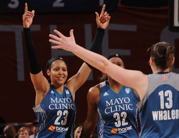 bcc1869feb0d Maya Moore came through with Jordanesque clutch play on Sunday