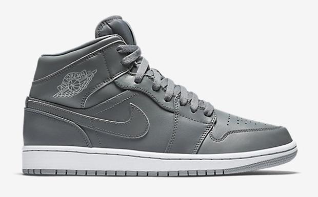Nike Air Jordan 1 Mid Cool Grey/Black