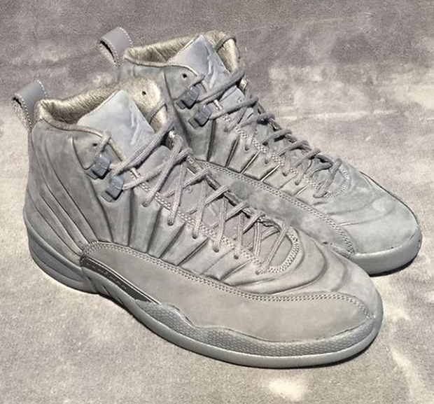 Check The Public School x Air Jordan 12 In Detail