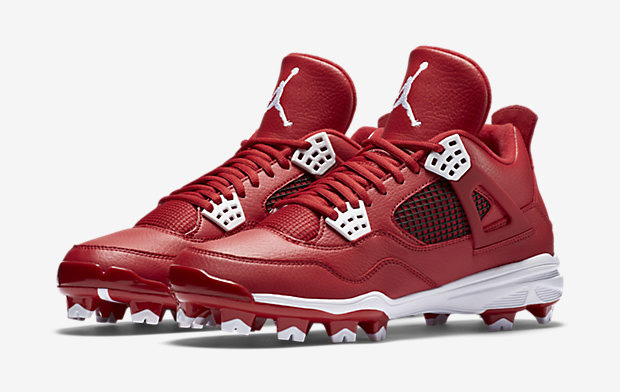 The Air Jordan 4 returns as a baseball cleat. Dubbed the Air Jordan IV Retro  MCS, this option features the classic basketball shoe layout with Nike's  Power ...