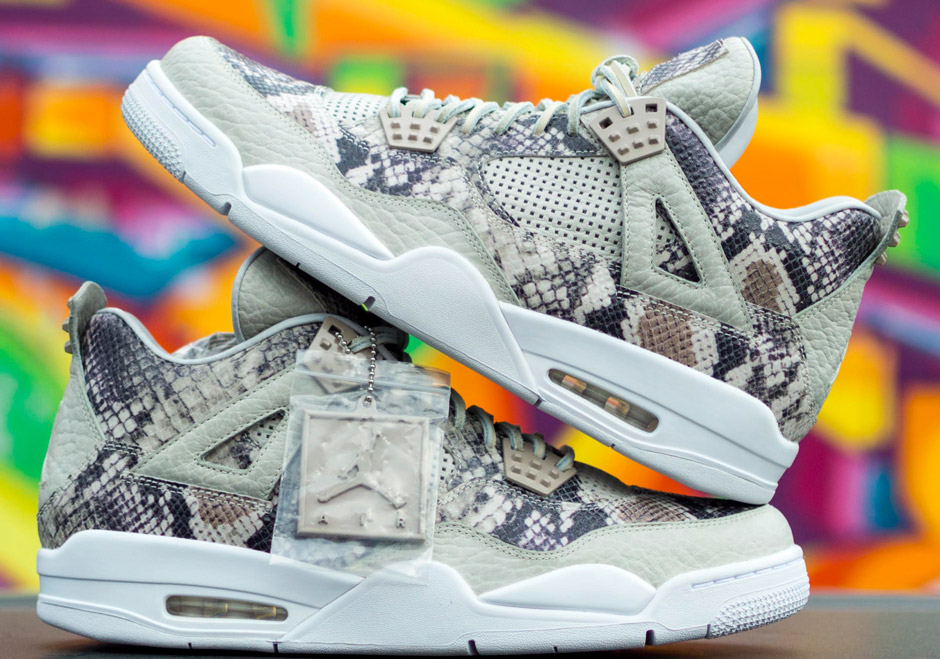 Sample The Snakeskin Air Jordan 4