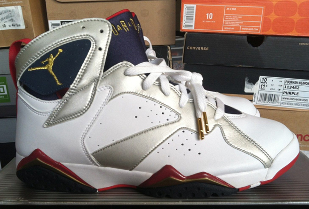 2004 Air Jordan 7 Libération Olympic