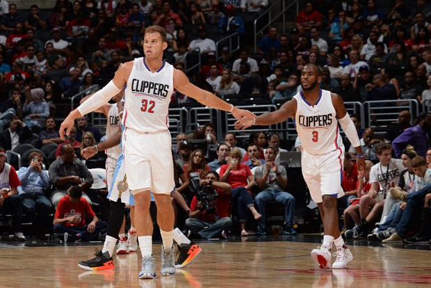 730fb2cb724dc2 Chris Paul and Blake Griffin helped the Los Angeles Clippers get the 2015  NBA Preseason off to a solid start with a 103-96 W over the Denver Nuggets.