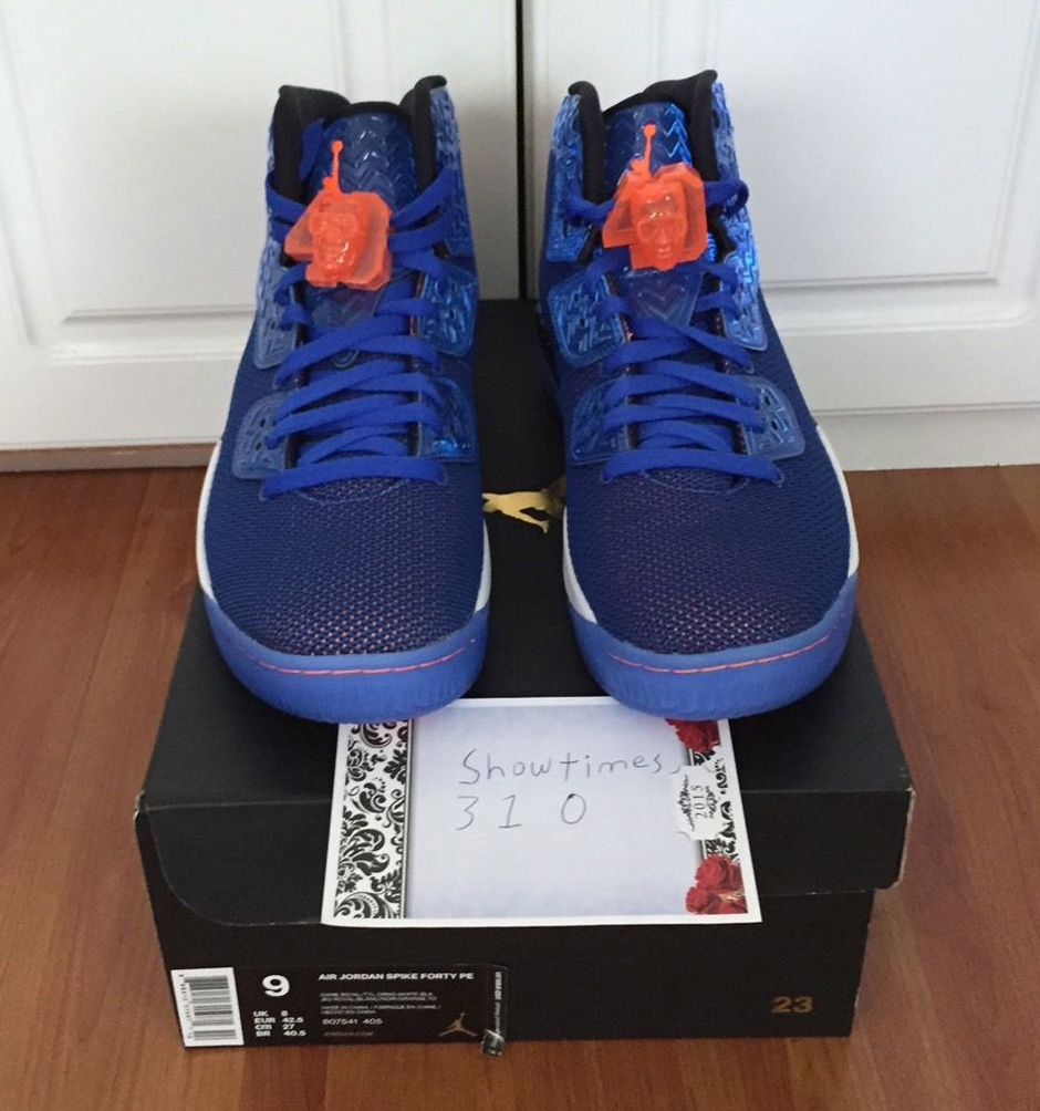 Air Jordan Spike Forty Pe