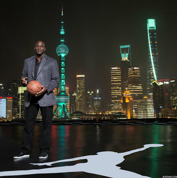 Jordan Brand's Spreads The 30th Anniversary Love In China