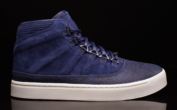 wholesale dealer b21cc 66358 ... of this midnight navy shade – embossed leather, molded suede, and all.  If you re into these, find them now at select Jordan spots like Oneness now.