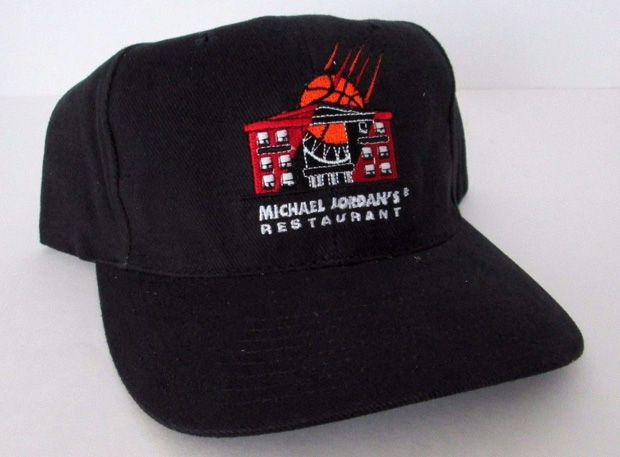 Vintage Gear  Michael Jordan s Restaurant Snapback - Air Jordans ... 96af0f019c4