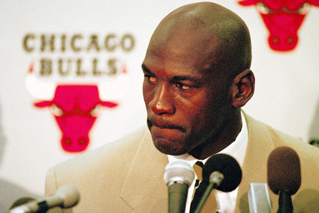 Michael Jordan's Retirement Rocked The World 22 Years Ago Today