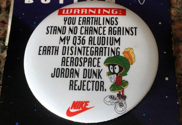 2e3f8b194e90 Long before Marvin The Martian was trailing Blake Griffin around the galaxy  to leverage the Jordan Super.Fly 4's power, he was up in arms against  Michael ...