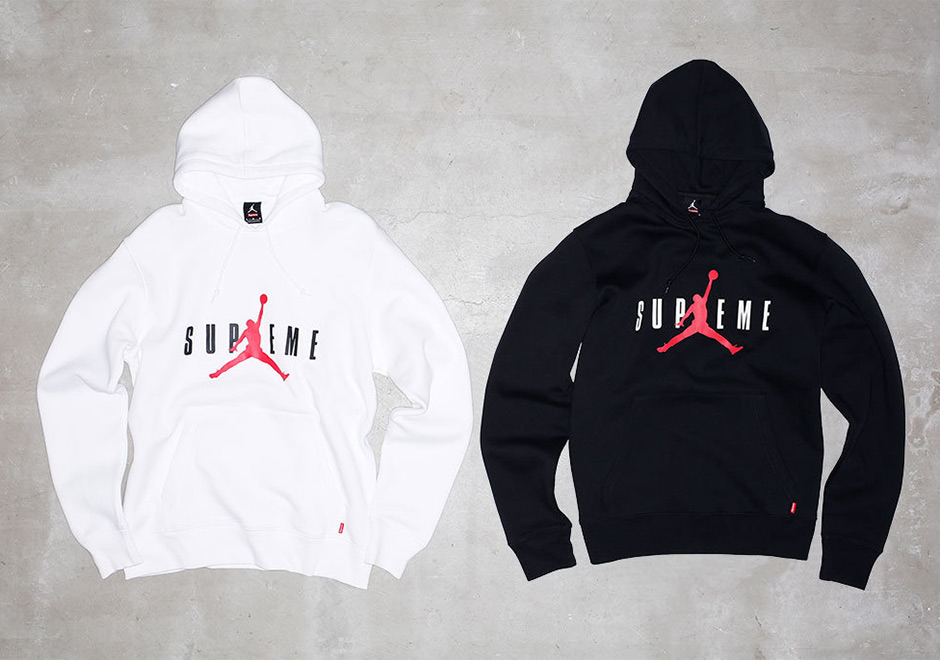 Preview The Supreme X Jordan Apparel Collection Releasing Tomorrow