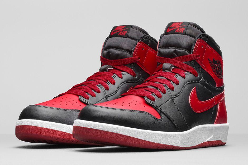 "Air Jordan 1 High The Return ""Gym Red"" Official Photos"