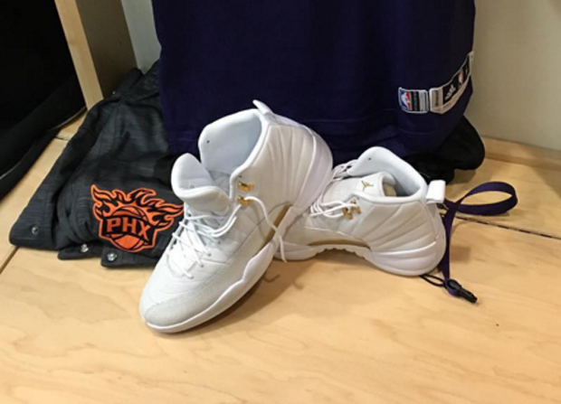 Looks Like Drake Gave P.J. Tucker Some Game Shoes For Tonight